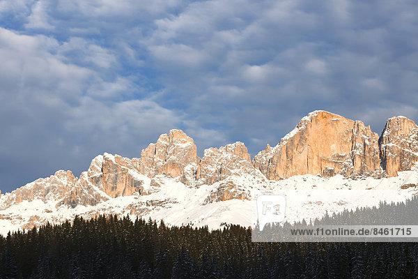 Rosengartengruppe  Karerpass  Südtirol  Italien