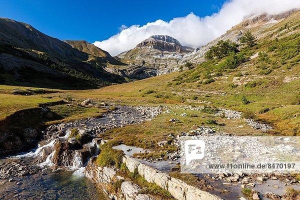 Europa  Landschaft  Aragonien  Pyrenäen  Spanien
