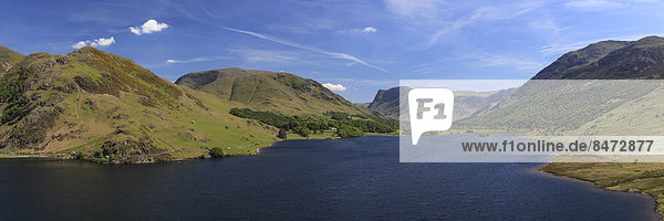 Crummock Water,  Lake District National Park,  near Buttermere,  Cumbria,  England,  United Kingdom