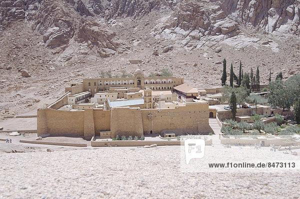 Katharinenkloster  UNESCO-Weltkulturerbe  Sinai-Halbinsel  Ägypten