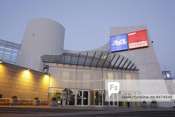 Schokoladenmuseum  Köln  Nordrhein-Westfalen  Deutschland