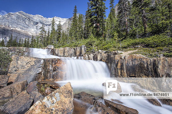 Giant Steps  Wasserfall  Paradise Valley  Banff-Nationalpark  Kanada