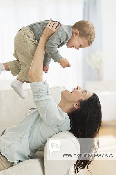Sohn Mutter - Mensch spielen