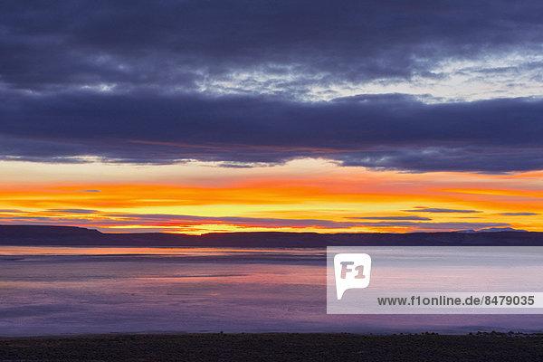 Sonnenaufgang  Wüste  Ansicht