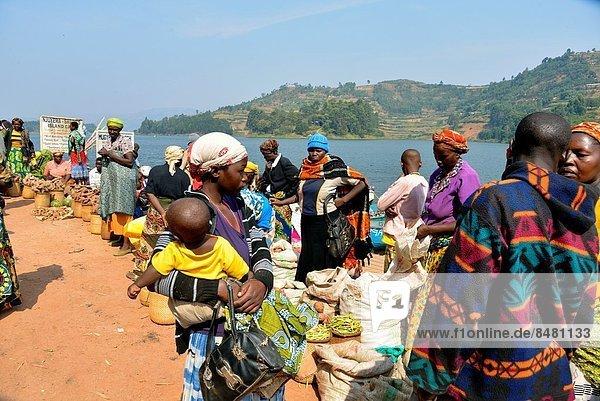 Markt  Uganda