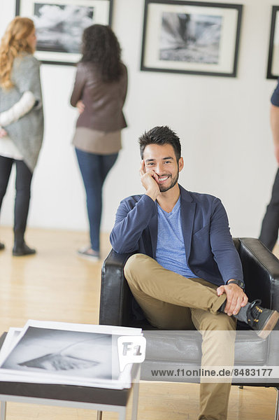 lächeln  Kunst  Galerie  Künstler