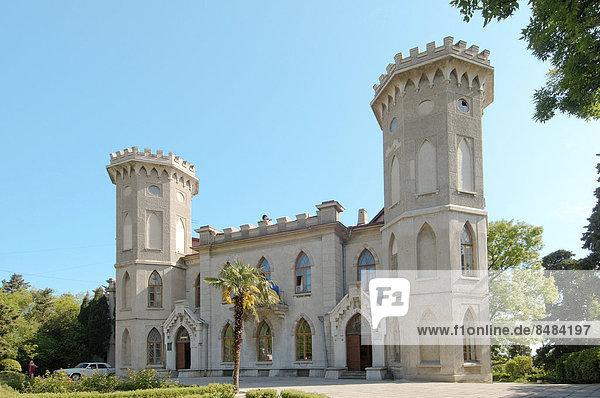 Golitsyn-Palast  Sanatorium Jasnaja Poljana  Jalta  Krim  Ukraine