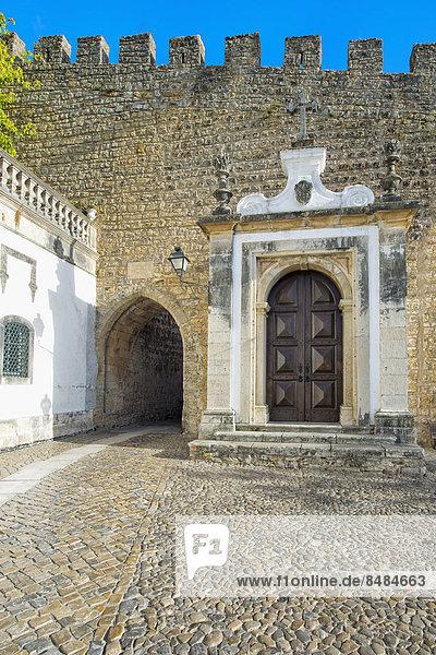 Tor Porta da Vila  Obidos  Distrikt Leiria  Portugal