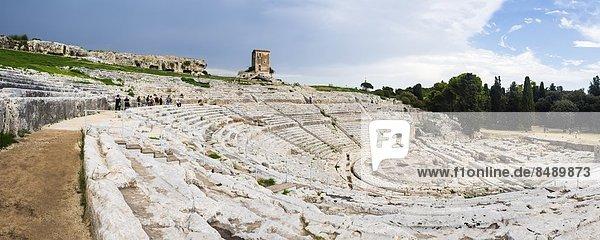 Europa  Griechenland  UNESCO-Welterbe  griechisch  Italien  Sizilien  Syrakus