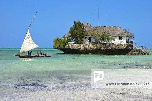 Ostafrika  Tradition  Tourist  Boot  Afrika  Dau  Indischer Ozean  Indik  Tansania  Sansibar