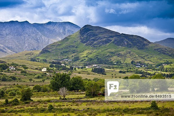 nahe Berg Landhaus Connemara County Galway Irland