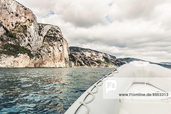 Beibootbogen  Golfo di Orosei  Sardinien  Italien