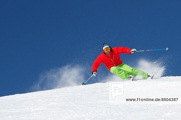 Skifahren in Kuhtai Österreich