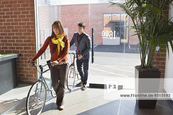 Mensch  Büro  Menschen  Fahrrad  Rad  Business