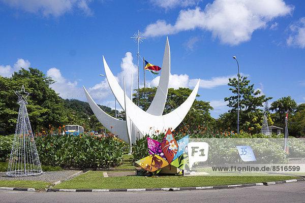 Bicentennial Monument  Victoria  Mahé  Seychelles