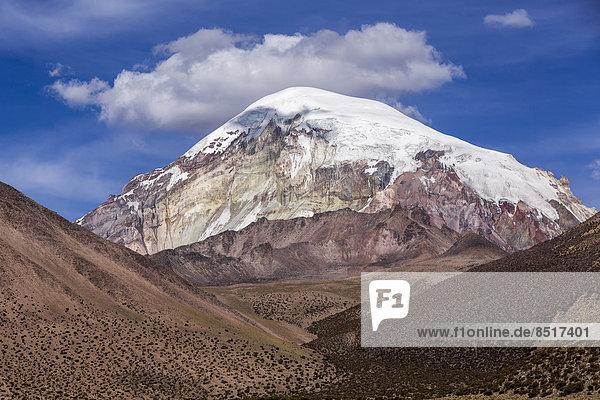 Vulkan Sajama  Sajama-Nationalpark  Altiplano-Hochland  Bolivien