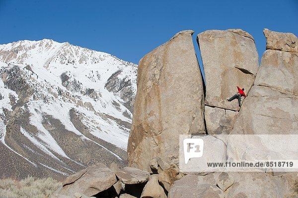 Mann  Sport  Klettern  Kalifornien