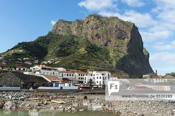 Portugal  Madeira  Porto da Cruz  Hafen