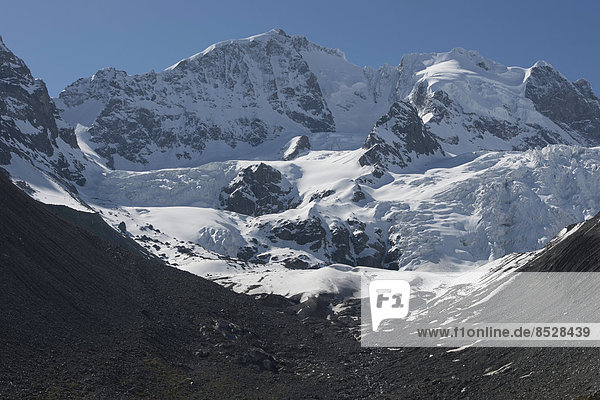 Biancograt  Piz Bernina  Samedan  Graubünden  Schweiz
