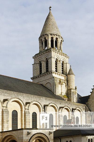 Kirche Notre-Dame-la-Grande,  romanische Kirche,  Poitiers,  Département Vienne,  Region Poitou-Charentes,  Frankreich