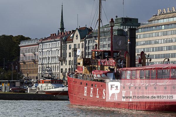 Reise Boot Kai Finnland