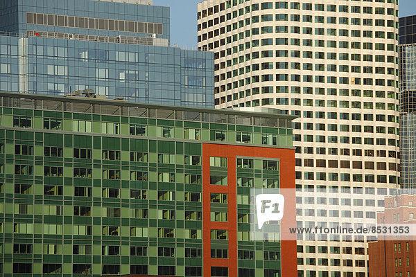 Bürogebäude  Financial District  Boston  Massachusetts  USA