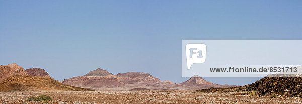 Landschaftspanorama  Damaraland  Namibia