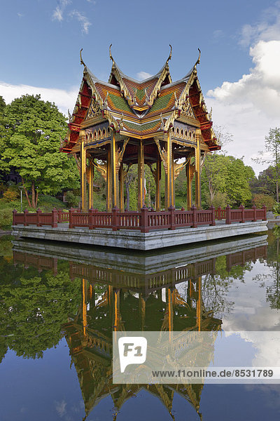 Thai-Sala  Thailändischer Pavillon  Westpark  München  Oberbayern  Bayern  Deutschland