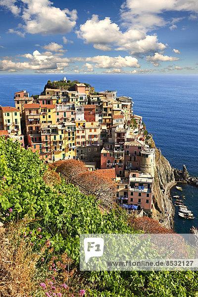 Italien Ligurien Manarola