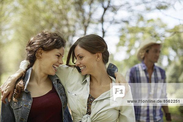 Freundschaft  lächeln  2