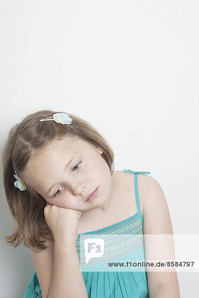 Mädchentraurigkeit