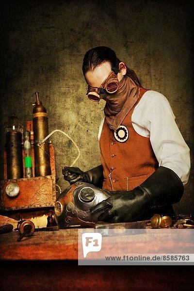 Arbeiter Steampunk  MrTIB