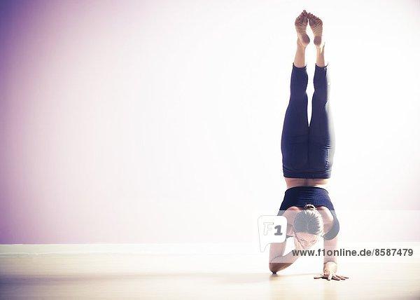 Studio-Yogahaltung