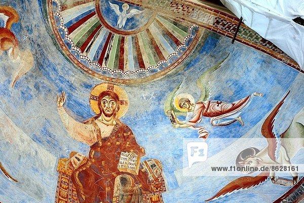 Evangelische Stiftskirche  Kampanien  Italien  Wandmalerei