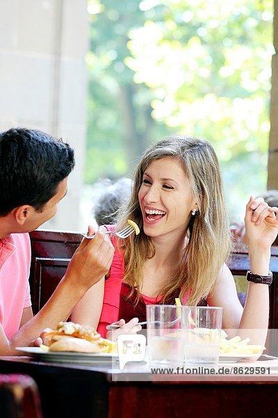 Restaurant  essen  essend  isst  Spanien