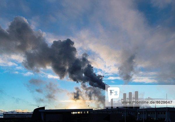 Kraftwerk Rauch Zimmer Heiße Quelle