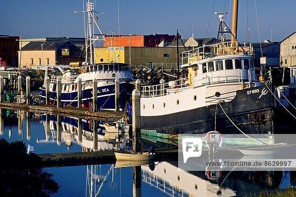 Fischereihafen  Fischerhafen  Boot  angeln  Humboldt  Kalifornien