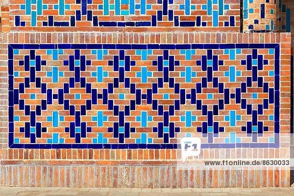 Denkmal  Wand  frontal  Dekoration  bitten  Komplexität  Usbekistan