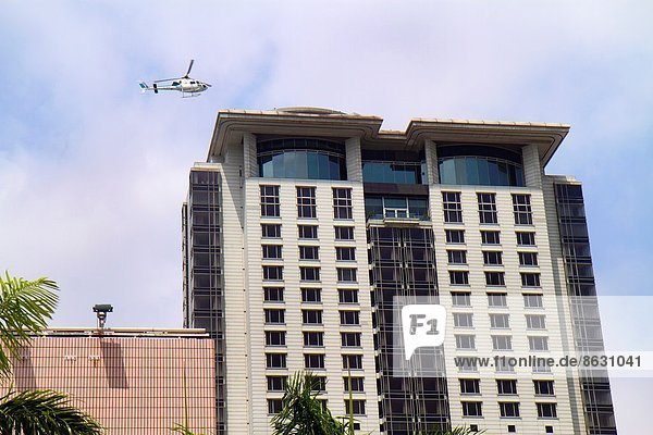 Hotel  Hubschrauber  China  landen  Hongkong  The Peninsula
