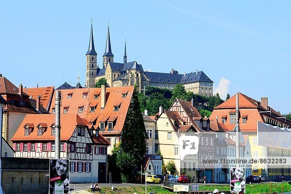 Kreuzgang  Deutschland  UNESCO-Welterbe  Bamberg  Bayern
