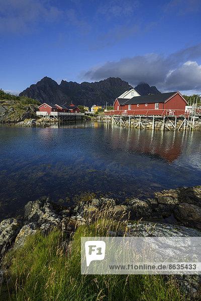Norwegen Lofoten Henningsvaer nordland