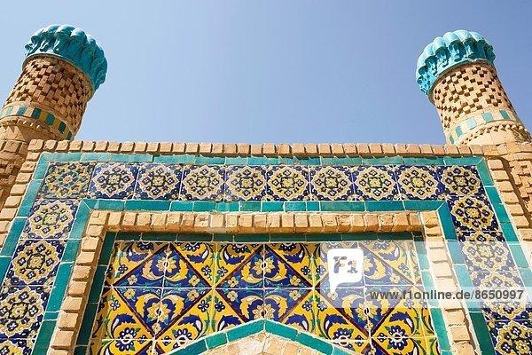 Denkmal  Werbung  Buchara  Usbekistan