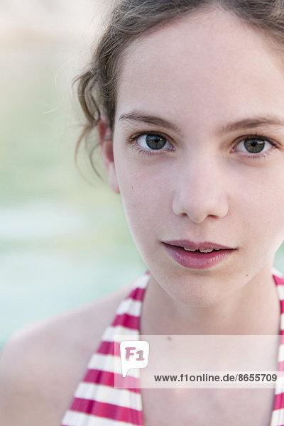 Preteen Mädchen  Porträt