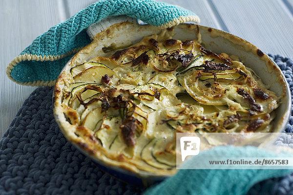 Meer  Kartoffel  Duft  Zucchini  Gratin