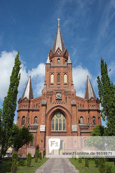 St. Peter's Church  Tartu  Estonia  Baltic States