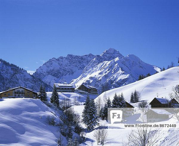 Berg Österreich Mittelberg Vorarlberg