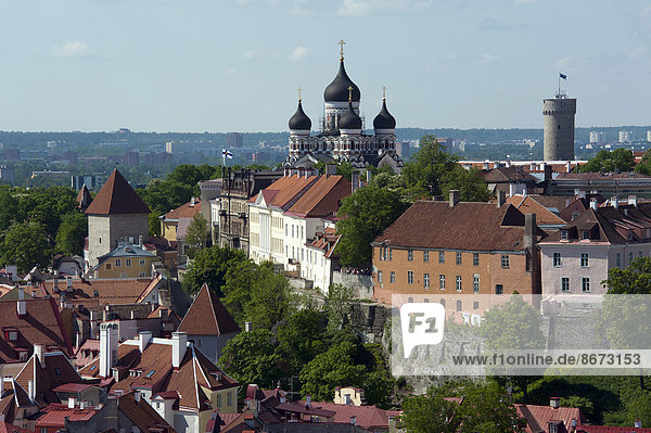 Tallinn Hauptstadt Stadt Kirche Estland