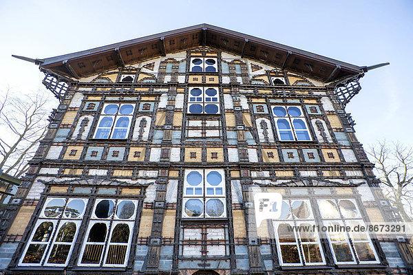 Museum Junkerhaus  Lemgo  North Rhine-Westphalia  Germany