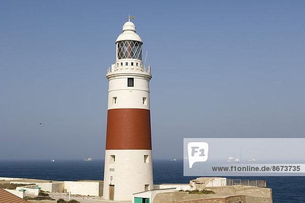 The Europa Point Lighthouse  Trinity Lighthouse at Europa Point  Victoria Tower  Europa Point  British overseas territory of Gibraltar