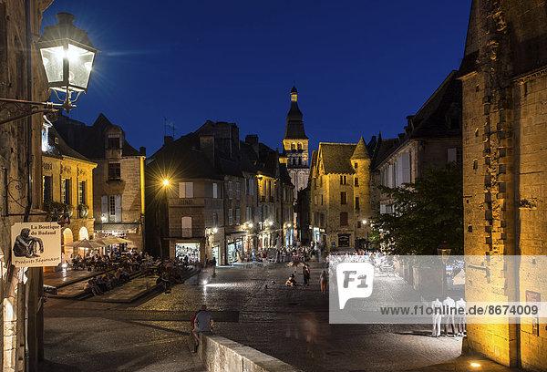 Frankreich Aquitanien Dordogne Platz